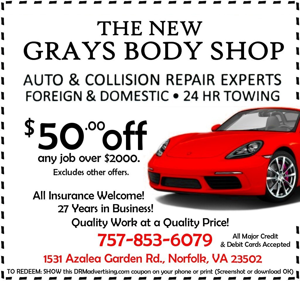 Drmadvertising 757 vaach norfolk va grays body shop nf 853 6079 reheart Image collections