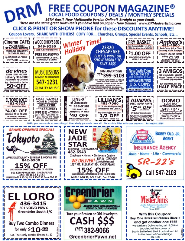 Cinema cafe coupons virginia beach
