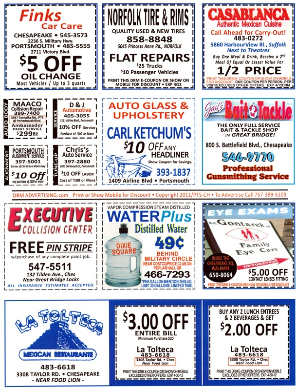COUPON PAGES